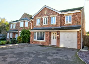 Thumbnail 4 bed detached house for sale in Paver Drive, Brayton, Selby