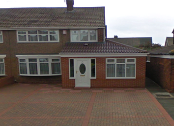 Thumbnail 4 bed semi-detached house to rent in Bilsdale Road, Hartlepool