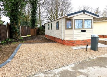 2 bed bungalow for sale in Pear Tree Manor, Wainfleet Bank, Wainfleet, Skegness PE24