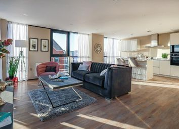 Thumbnail 3 bed flat for sale in Queens Gardens, Hull