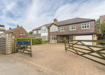 Thumbnail 5 bed semi-detached house for sale in Farleigh Road, Warlingham, Surrey