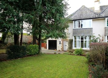 Thumbnail 4 bed semi-detached house for sale in Tavistock Road, Roborough, Plymouth