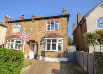 Thumbnail 3 bed semi-detached house for sale in Pemberton Road, East Molesey