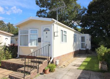 Thumbnail 2 bed mobile/park home for sale in Valdean Park, The Dean, Alresford, Hampshire