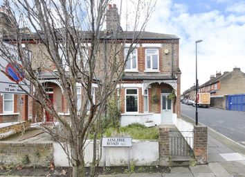 Thumbnail 3 bed end terrace house for sale in Aislibie Road, London