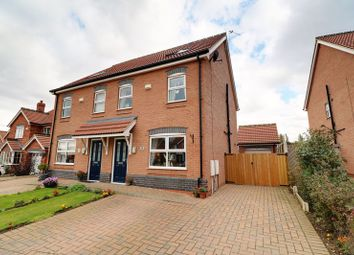Thumbnail 3 bed semi-detached house for sale in Appleleaf Lane, Barton-Upon-Humber