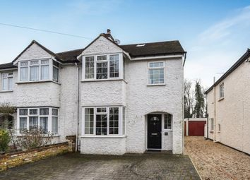 Thumbnail 4 bed semi-detached house for sale in Oakington Drive, Lower Sunbury