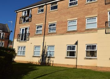 Thumbnail 2 bed flat for sale in Dunster Close, Rugby
