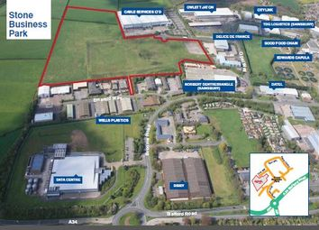 Thumbnail Land for sale in Stone Business Park, Stone