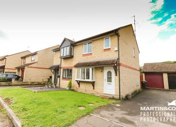 Thumbnail 2 bedroom semi-detached house for sale in Swanage Close, St. Mellons, Cardiff