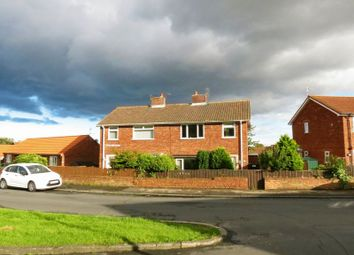 Thumbnail Semi-detached house for sale in Beaumont Crescent, Horden, Peterlee
