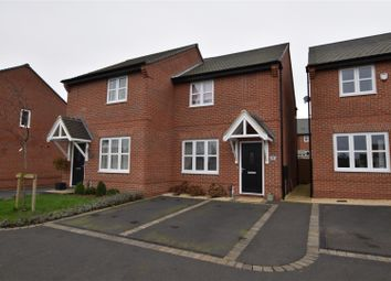 Thumbnail 2 bed semi-detached house for sale in Belfry Place, Shepshed, Loughborough