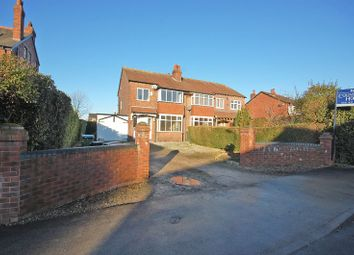 Thumbnail 3 bedroom semi-detached house for sale in Cross Lane, Marple, Cheshire