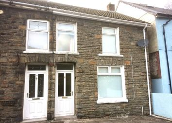 Thumbnail 3 bed terraced house for sale in Highland Place, Ogmore Vale, Bridgend, Mid Glamorgan.