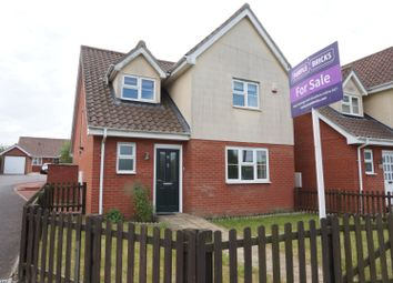 Thumbnail 4 bed detached house for sale in Needham Road, Combs Ford, Stowmarket