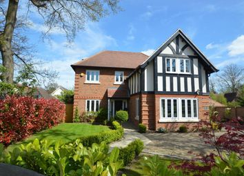 Thumbnail 5 bed detached house for sale in Clayside, Finchampstead