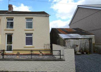 Thumbnail 3 bedroom semi-detached house for sale in Heol Rhyd Ddu Fach, Cwmllynfell, Swansea
