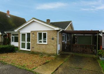 Thumbnail 3 bed detached bungalow to rent in Caudle Avenue, Lakenheath, Brandon
