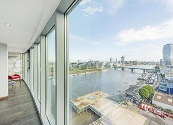 Thumbnail 2 bed flat to rent in Altura Tower, Bridges Court Road, Battersea, London
