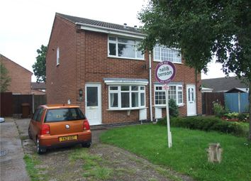 Thumbnail 2 bed semi-detached house for sale in Zetland Crescent, Stenson Fields, Derby