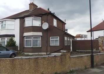 Thumbnail 3 bed semi-detached house for sale in Amersham Avenue, Edmonton