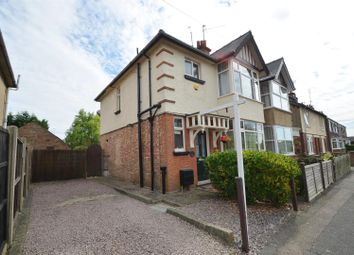 Thumbnail 3 bed semi-detached house for sale in Burdett Road, Wisbech