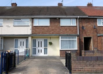 Thumbnail 3 bed terraced house for sale in Glaisdale Grove, Hull