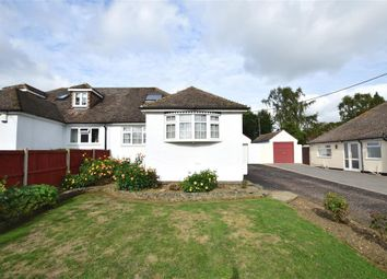 Thumbnail 3 bed semi-detached bungalow for sale in Festival Avenue, Longfield, Kent