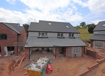 Thumbnail 5 bed detached house for sale in Springbourne Drive, Cullompton