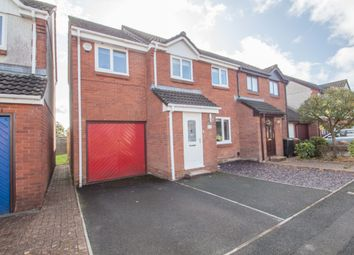 Thumbnail 4 bed semi-detached house for sale in Redwing Drive, Woolwell, Plymouth