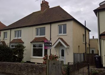 Thumbnail 3 bed semi-detached house to rent in Queens Road, Minehead