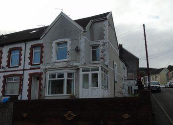 Thumbnail 3 bed end terrace house for sale in Queens Terrace, Troedyrhiw, Merthyr Tydfil