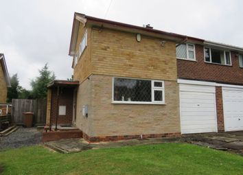 Thumbnail 3 bed semi-detached house for sale in Bridlewood, Streetly, Sutton Coldfield