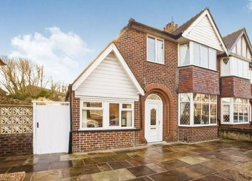 Thumbnail 4 bedroom semi-detached house for sale in Burwood Drive, Blackpool, Lancashire