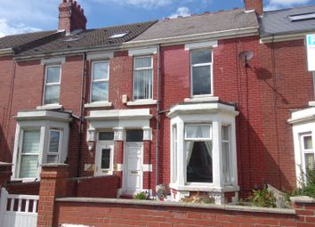 Thumbnail 3 bed terraced house to rent in Beach Avenue, Whitley Bay