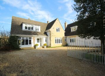 Thumbnail 4 bed detached house for sale in Old Road, Studley, Calne