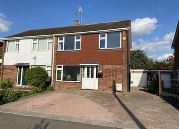 Thumbnail 3 bed semi-detached house for sale in Rosefield Crescent, Newtown, Tewkesbury