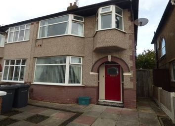 Thumbnail 3 bed semi-detached house to rent in Somerset Road, Brighton-Le-Sands, Liverpool