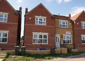 Thumbnail 1 bed town house to rent in Stonegate Mews, Doncaster
