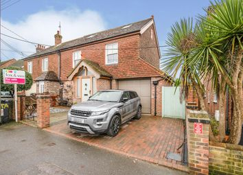 Thumbnail 5 bed semi-detached house for sale in Hawkswood Road, Hailsham