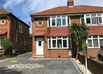 Thumbnail 3 bed semi-detached house for sale in Broomgrove Gardens, Edgware, Middlesex