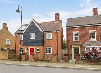 Thumbnail 3 bed detached house for sale in East Wichel Way, Swindon