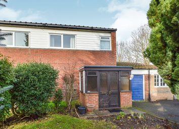 Thumbnail 3 bedroom semi-detached house for sale in Akerman Close, Greenleys, Milton Keynes