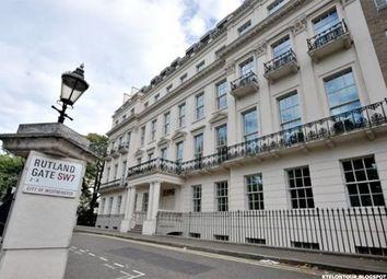 Thumbnail 2 bed flat to rent in Rutland Gate, Knightsbridge