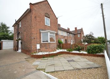 Thumbnail 3 bed terraced house for sale in Grange Road, Blidworth, Mansfield