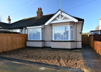 Thumbnail 2 bedroom semi-detached bungalow for sale in Weybourne Gardens, Southend-On-Sea