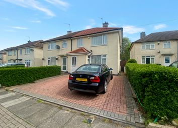 Thumbnail 3 bed semi-detached house for sale in Blundell Road, Leicester