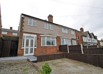 Thumbnail 3 bedroom semi-detached house to rent in Edingley Avenue, Sherwood, Nottingham