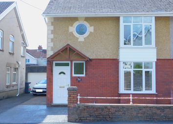 Thumbnail 3 bedroom semi-detached house for sale in Glanrhyd Road, Ystradgynlais