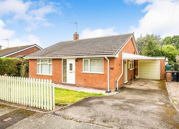 Thumbnail 3 bed bungalow for sale in Marsland Close, St. Martins, Oswestry
